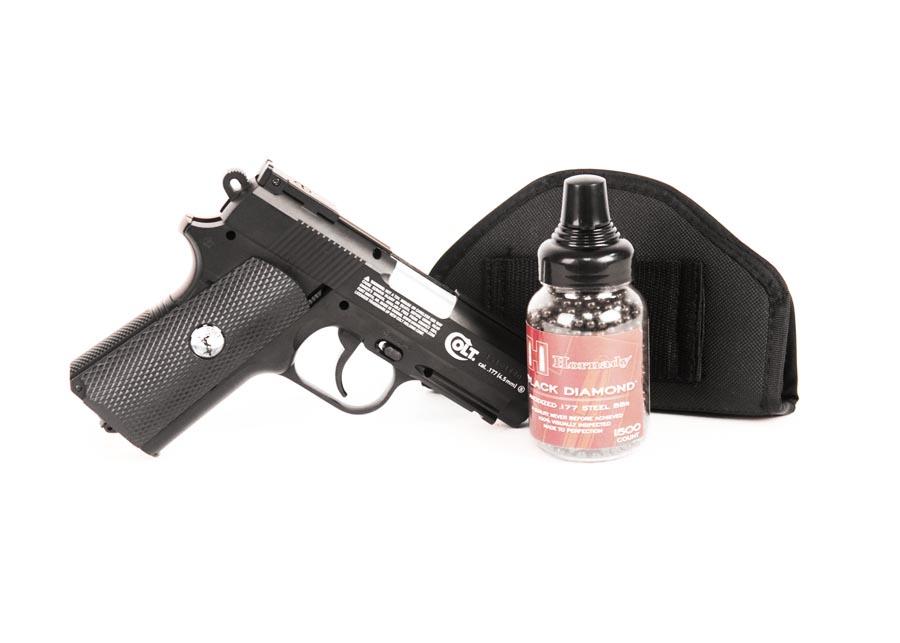 Colt Defender BB Pistol, Black Ops Combo