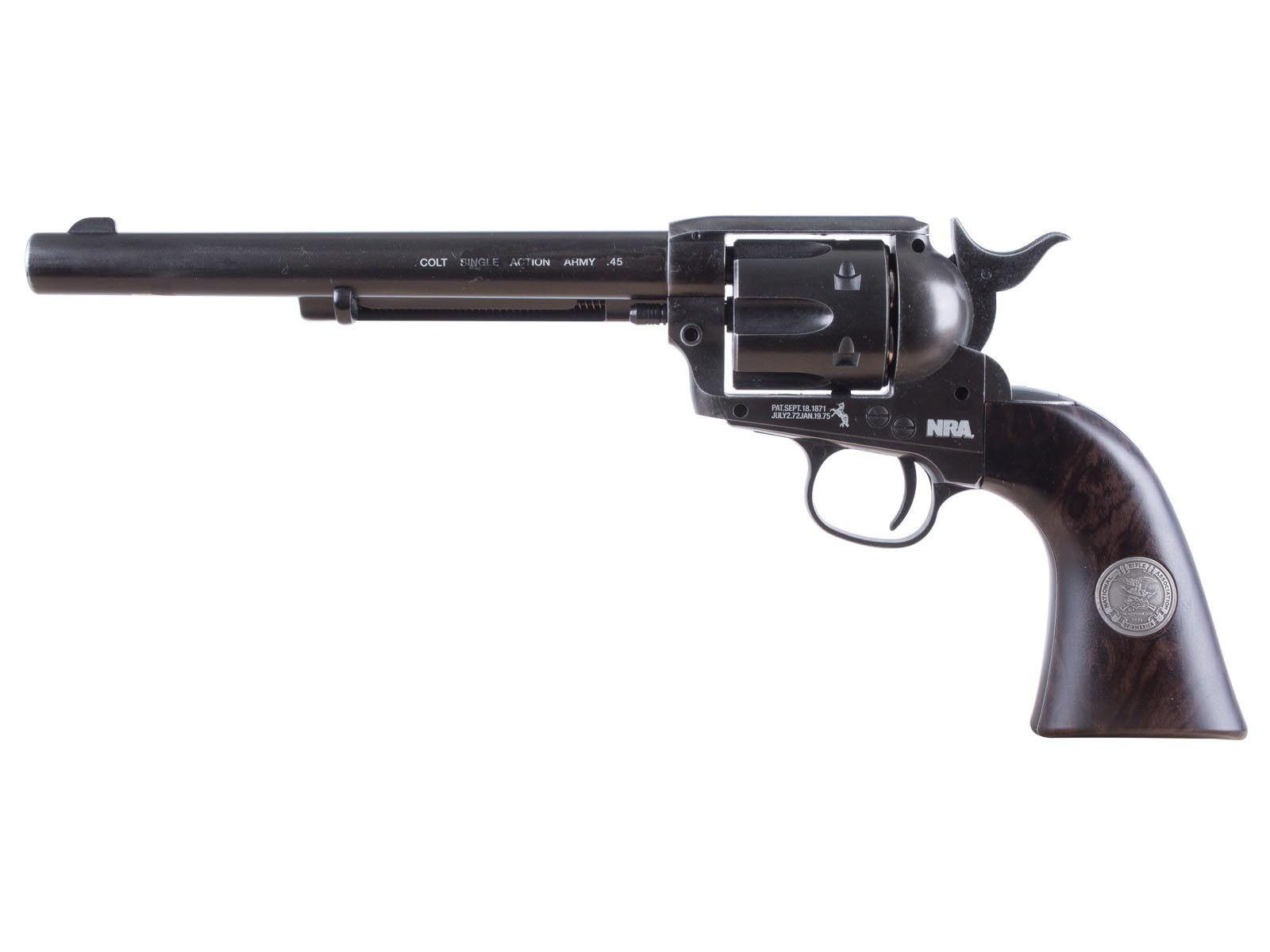 "Colt NRA Peacemaker 7.5"" Pellet Revolver"