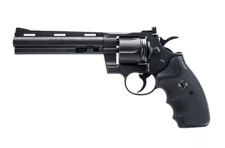 Colt Python BB & Pellet Revolver, Polymer