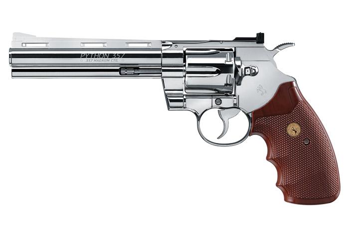 Colt Python BB Revolver, Chrome
