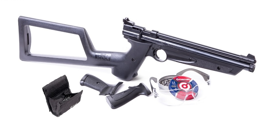 Crosman 1322 Pellet Pistol Combo