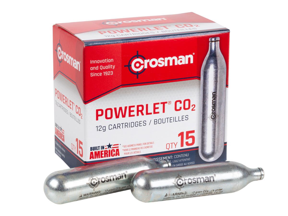 Crosman 12 gram CO2, 15 Pack (*)