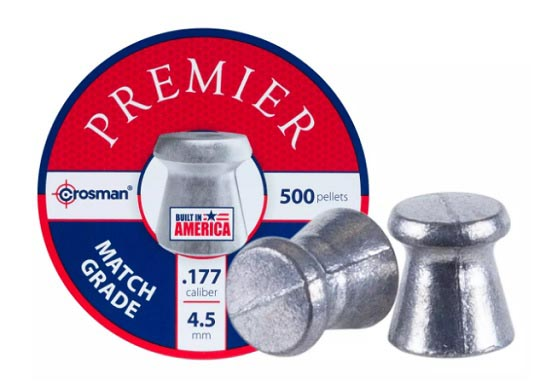Crosman Premier Match .177 cal, 7.9 gr - 500 ct