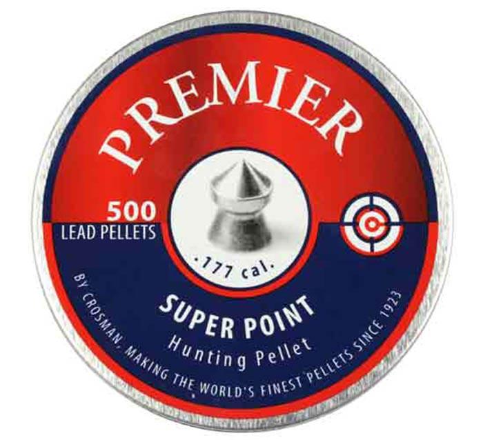 Crosman Premier Super Point .177 Cal, 7.9 gr - 500 ct