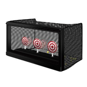 Crosman Auto Reset Airsoft Target with Net Trap