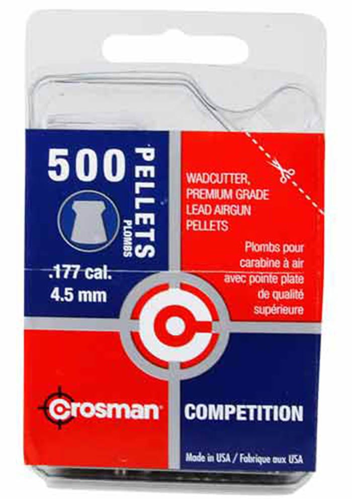 Crosman Competition Wadcutter .177 Cal, 7.4 gr - 500 ct
