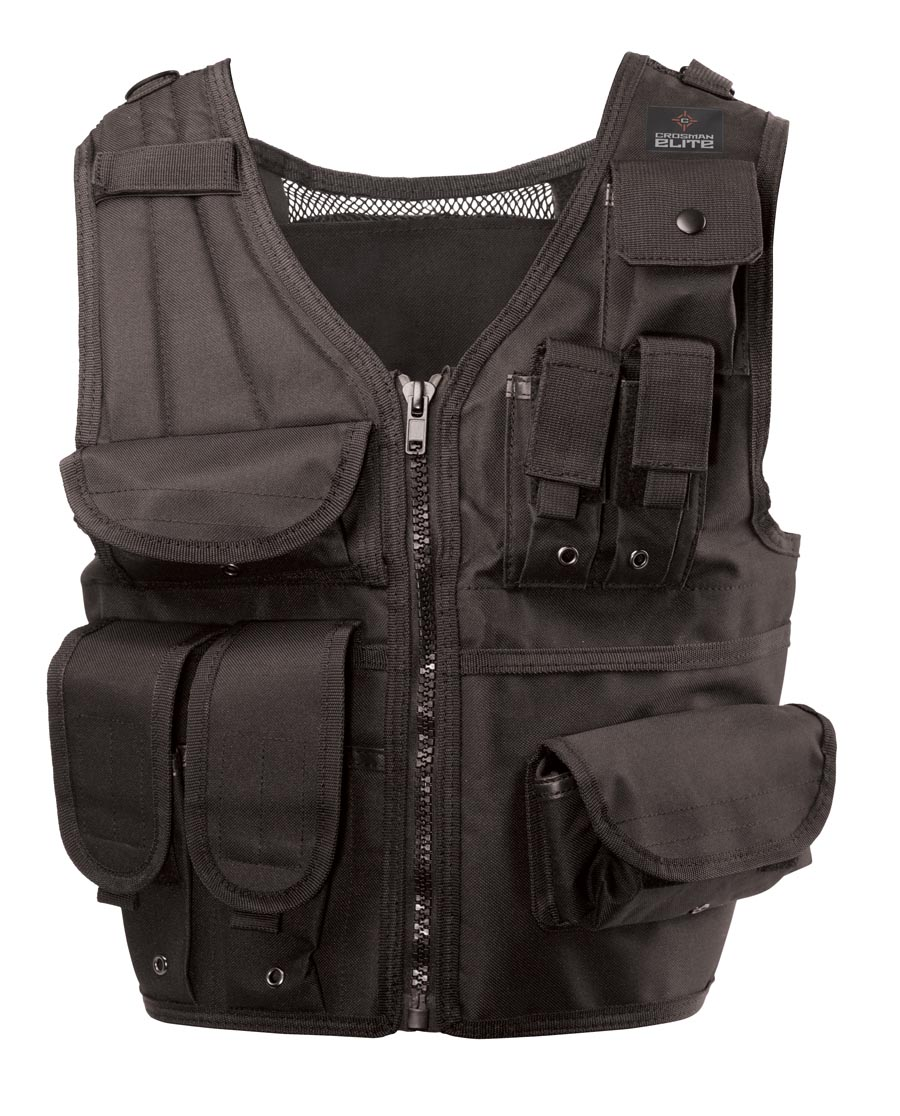 Crosman Elite Tactical Vest, Black