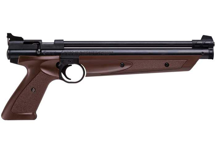 Crosman 1377C / PC77 Pellet Pistol, Brown