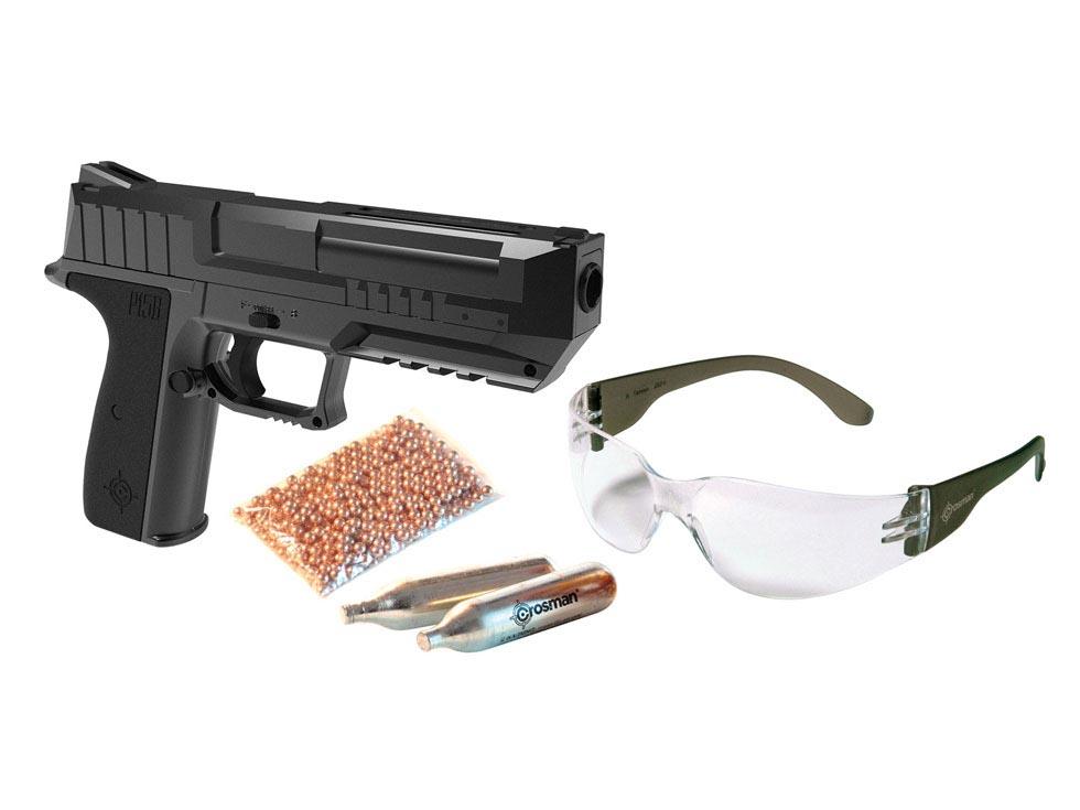 Crosman P15B BB Pistol Combo