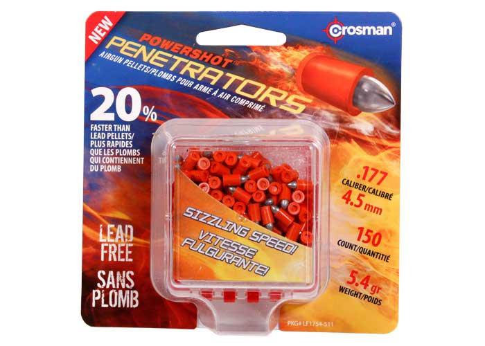Crosman PowerShot .177 Cal, 5.4 gr - 100 ct