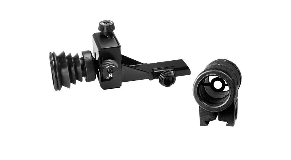 Crosman Precision Sight Set, Rear Diopter & Front Globe