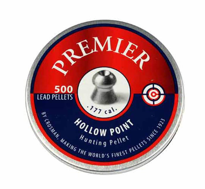Crosman Premier Hollow Point .177 Cal, 7.9 gr - 500 ct