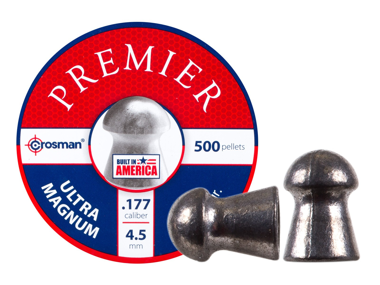 Crosman Premier Ultra Magnum .177 Cal, 10.5 gr - 500 ct