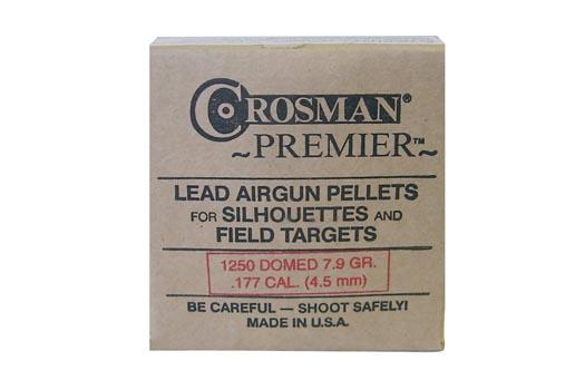 Crosman Premier .177 Cal, 7.9 gr - 1250 ct