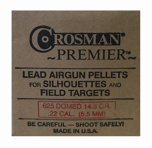 Crosman Premier Pellets .22 14.3 gr (625)