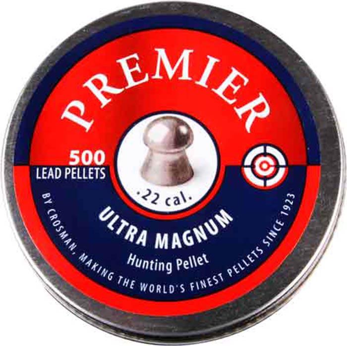 Crosman Premier Ultra Magnum .22 Cal, 14.3 gr - 500 ct