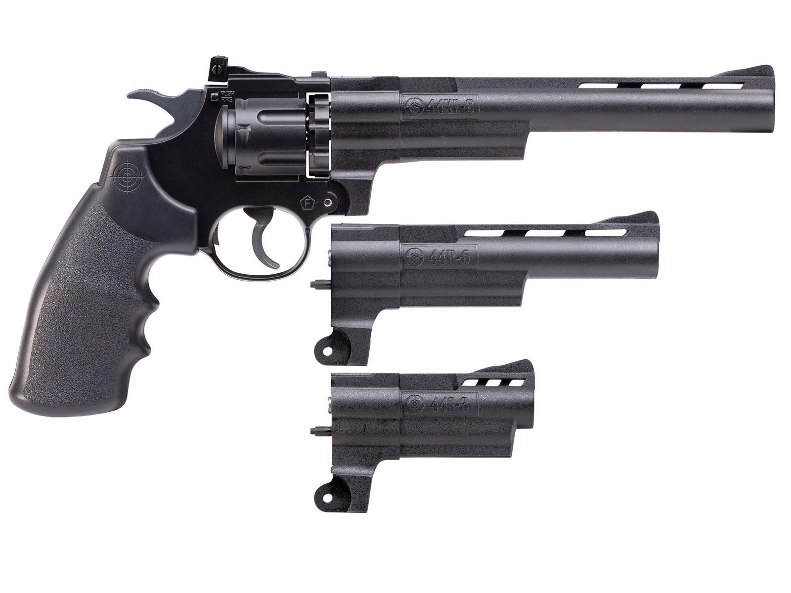 Crosman Triple Threat BB & Pellet Revolver