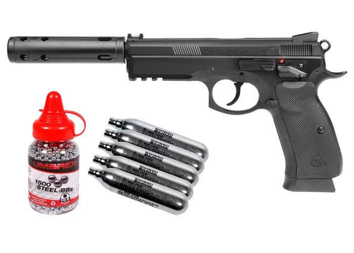 CZ 75 SP-01 Shadow BB Pistol Kit