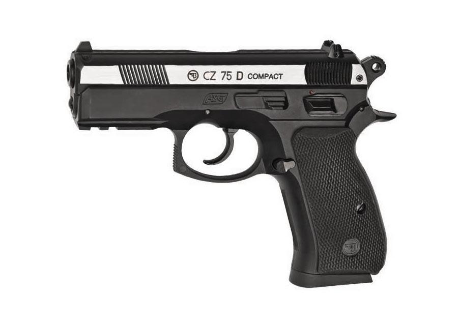 CZ 75D Compact BB Pistol, Dual Tone