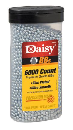 Daisy BBs 6000ct Bottle