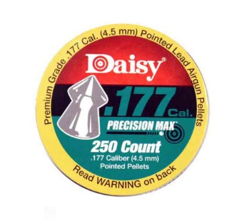 Daisy Precision Max Pointed .177 Cal, 7.2 gr - 250 ct