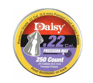 Daisy Precision Max Pointed .22 Cal, 14 gr - 250 ct