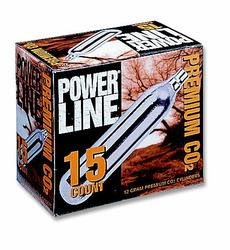 Daisy Powerline 12 gram CO2, 15 Pack (*)