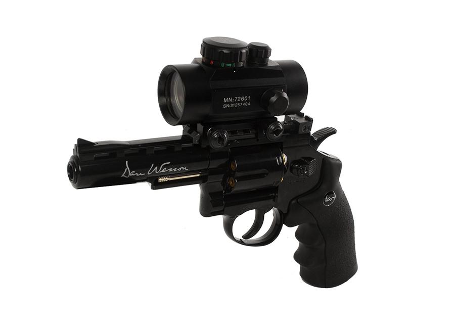 """Dan Wesson 4"""" BB Revolver, Black"""