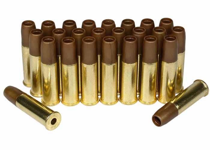 Dan Wesson 6mm Airsoft Cartridges, 25 Pieces