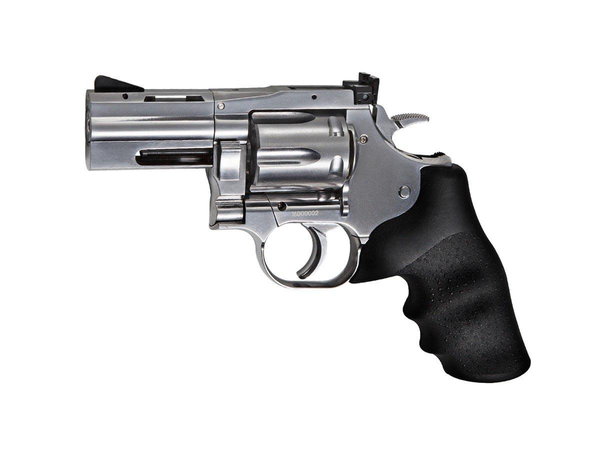 """Dan Wesson 715 2.5"""" BB Revolver, Silver"""