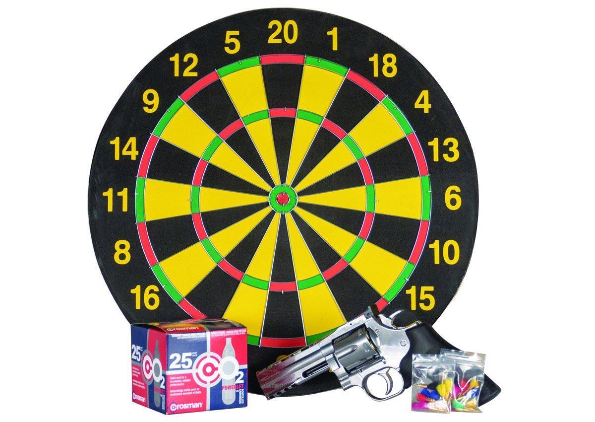 "Dan Wesson 715 4"", Essentials Darts Combo"