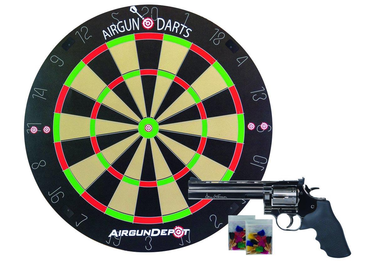 """Dan Wesson 715 6"""", Starter Darts Combo, Steel Grey"""