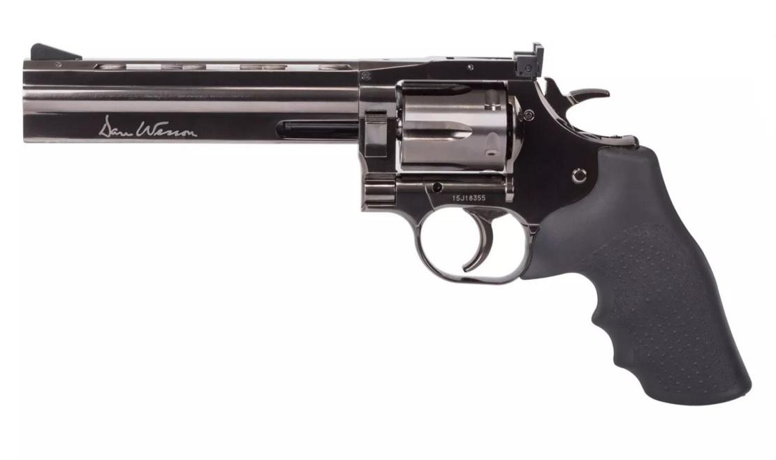 "Dan Wesson 715 6"" Pellet Revolver"