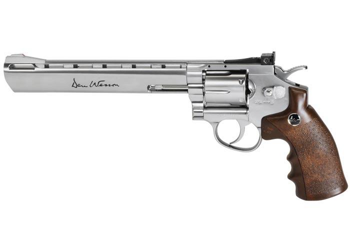 """Dan Wesson 8"""" BB Revolver, Silver"""