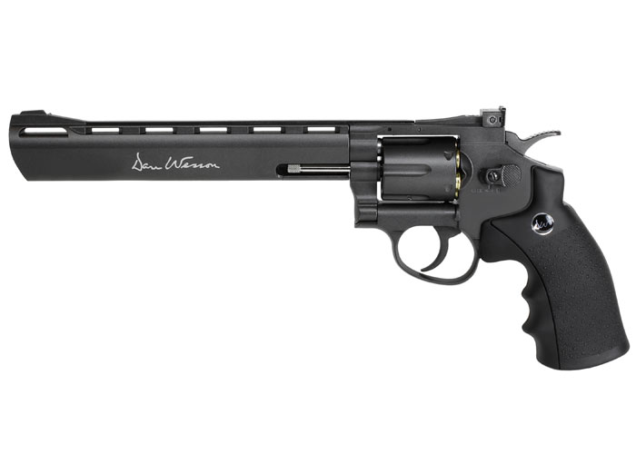 "Dan Wesson 8"" BB Revolver, Black"