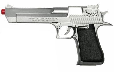 Desert Eagle .44 Magnum Airsoft Pistol, Silver