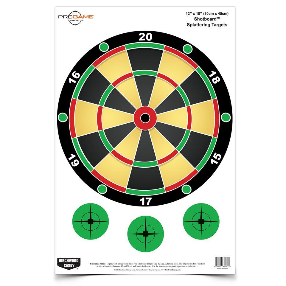 "Dirty Bird Shotboard? 12"" x 18"" Targets"