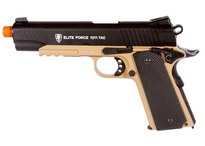 Elite Force 1911 TAC Metal Airsoft Pistol