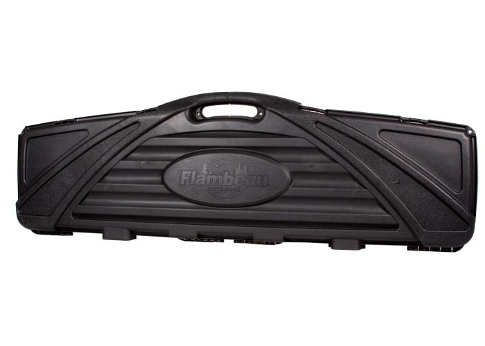Flambeau Safe Shot Black Double Rifle Hard Case, 53""
