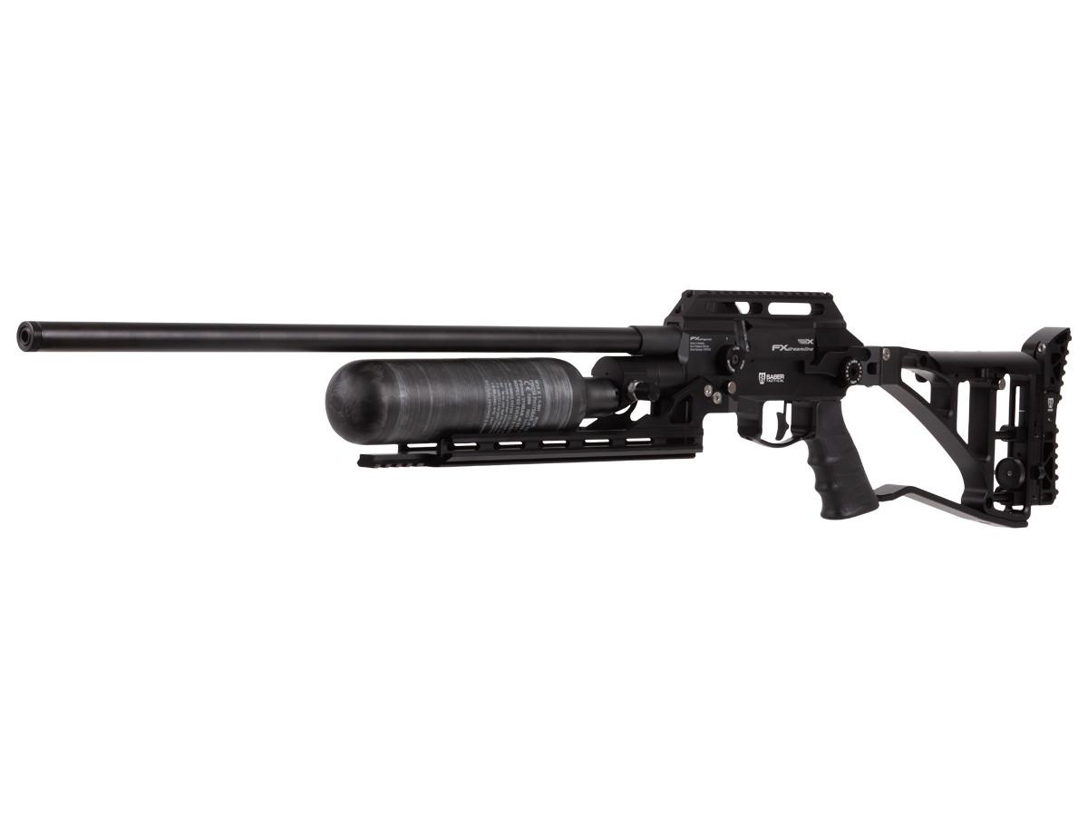 FX Dream-Base Carbon Fiber Bottle, Saber Tactical Chassis .25, 600mm Barrel