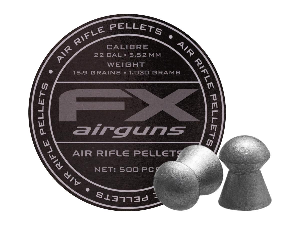 FX Airguns .22 Cal, 15.89 gr - 500 ct