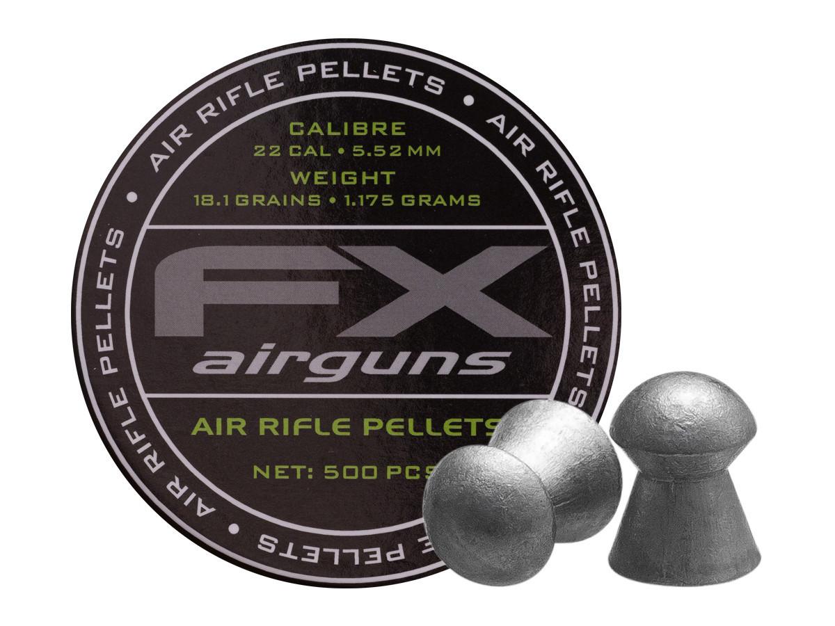 FX Airguns .22 Cal, 18.13 gr - 500 ct