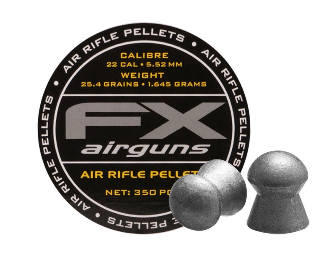 FX Airguns .22 Cal, 25.39 gr - 350 ct