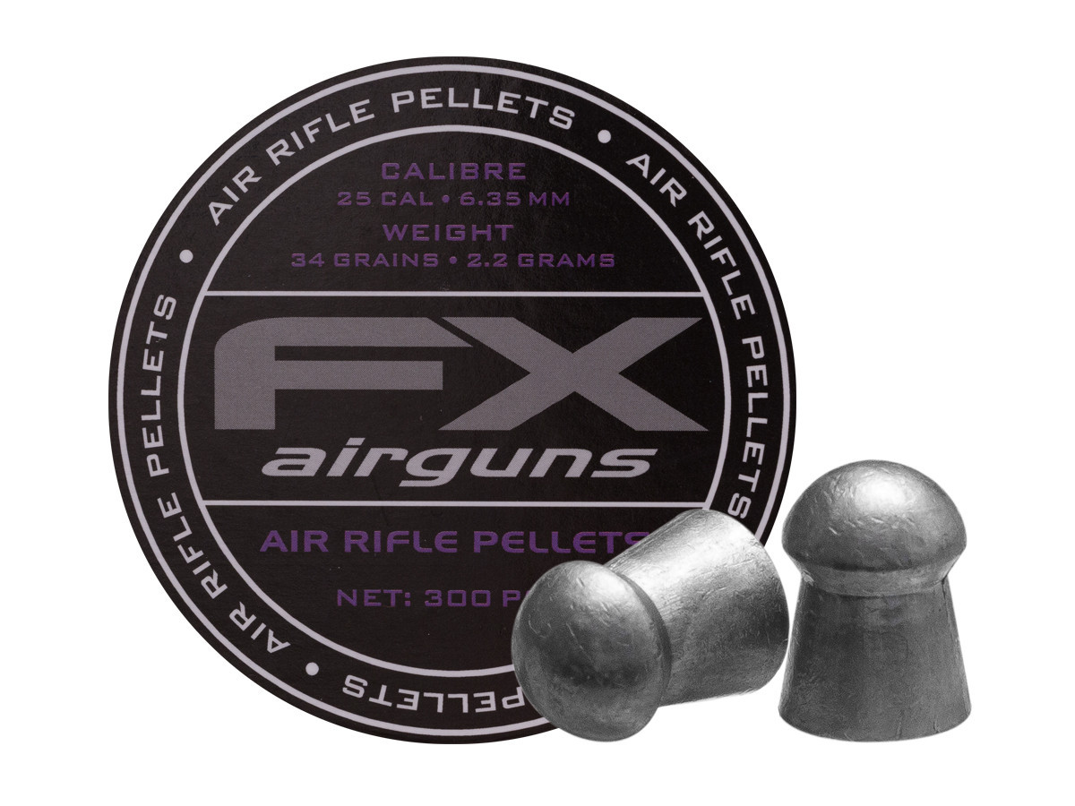 FX Airguns .25 Cal, 33.95 gr - 300 ct