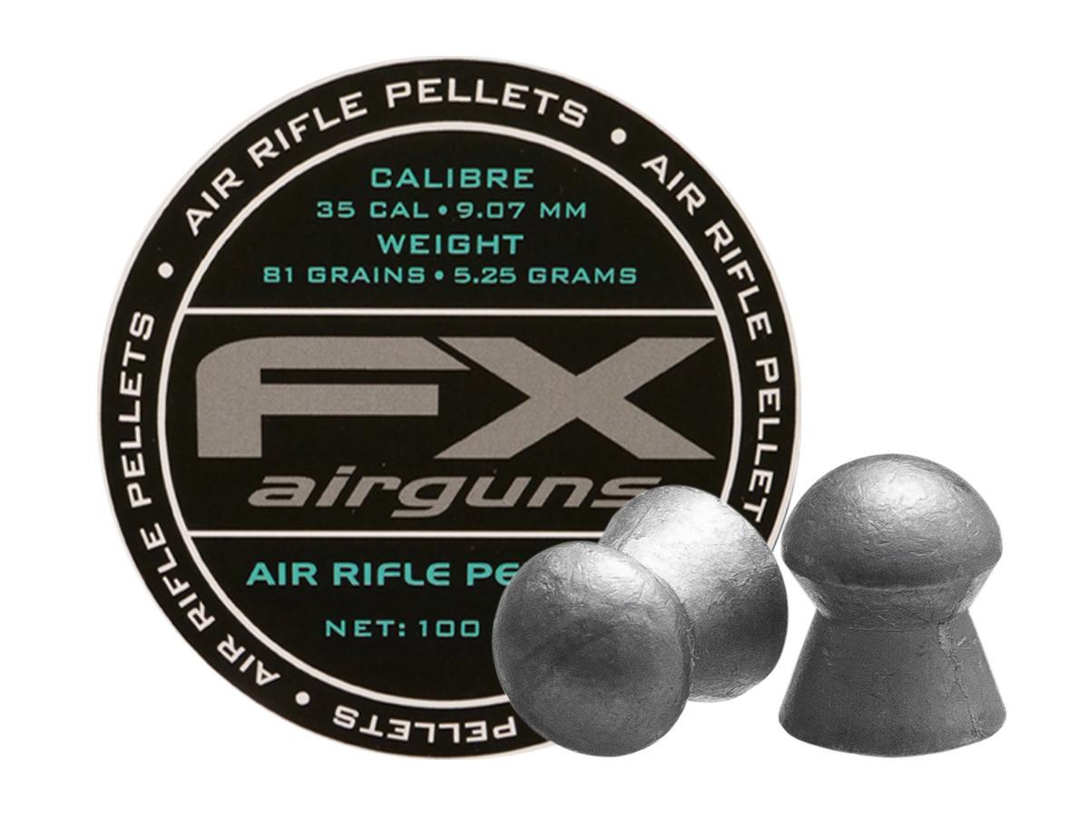 FX Airguns .35 Cal, 81.02 gr - 100 ct