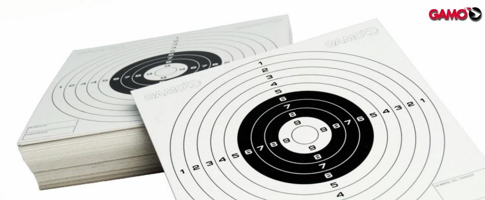 Gamo 100 Paper Targets, 100 ct