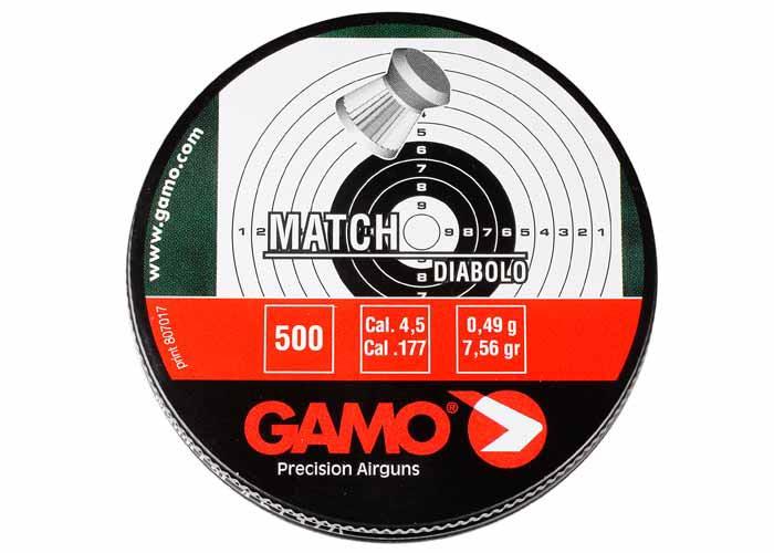 Gamo Match .177 Cal, 7.56 gr - 500 ct