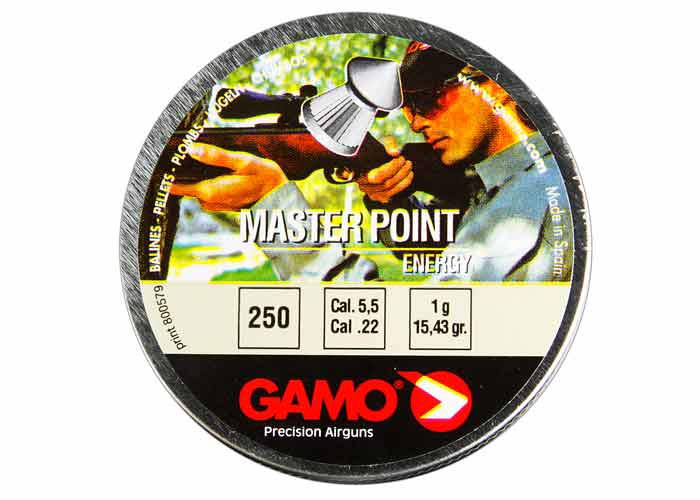 Gamo Master Point .22 Cal, 15.43 gr - 250 ct
