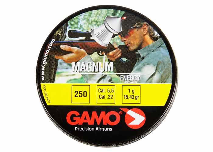 Gamo Magnum .22 Cal, 15.43 gr - 250 ct