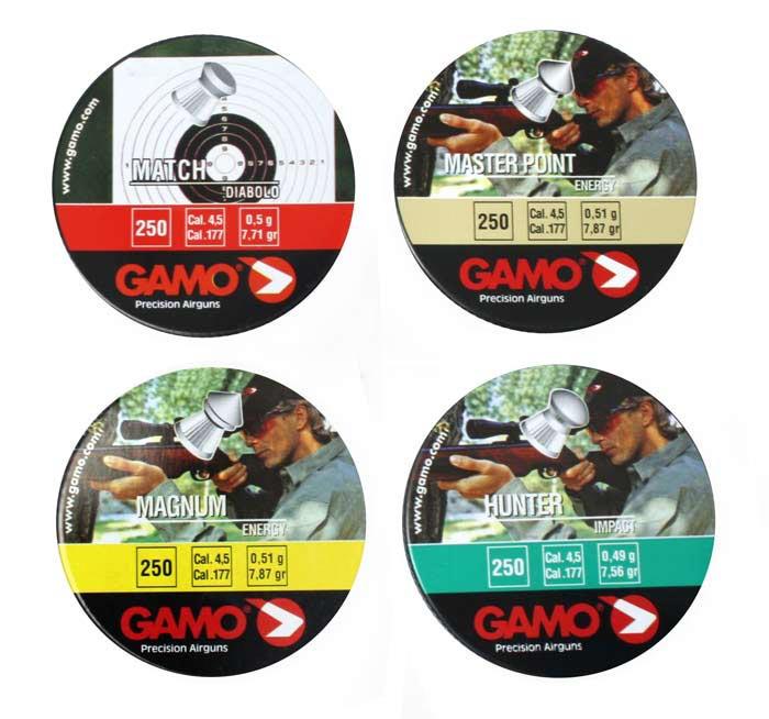 Gamo Prescision 4-Pack .177 Cal - 1000 ct